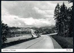 B0633 - Autobahn In Thüringen - Max Baur Bildkarte - Flechsig Verlag - Ansichtskarten