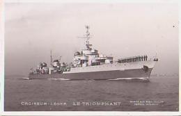 Croiseur        269        Croiseur Léger LE TRIOMPHANT - Warships