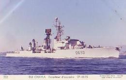 Escorteur        41        Escorteur D'escadre DU CHAYLA - Warships