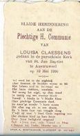 VR6/ AUSTRUWEEL  1936  COMMUNIE VAN LOUISA CLAESSENS - Religion & Esotericism