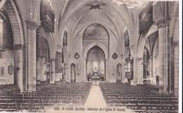 Carte 1931 LA FLECHE / INTERIEUR DE L'EGLISE ST THOMAS - La Fleche