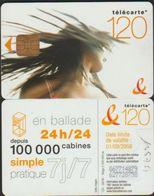 F1357A EN BALADE 120 U DANCE 3 PUCE ORG1 VALID 2006/08 - France