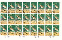 Korea Sheet - Snales And Fishes MiNr.1672 / 1977 - Korea, North