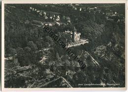 Jena - Landgrafenhaus - Fliegeraufnahme - Foto-Ansichtskarte Grossformat - Verlagsanstalt A. Weber & Co. Stuttgart - Jena