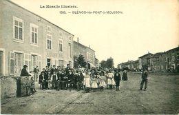 Cpa BLENOD LES PONT A MOUSSON 54 - Rassemblement Devant ARDOUIN Marchand De Vins - France