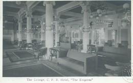 1784. Canada Victoria , BC   C.P.R. Hotel Empress - The Lounge - Victoria
