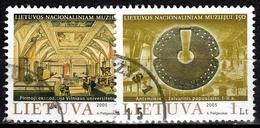 Litauen SG Nr. 859-860  Gestempelt (3653) - Lithuania