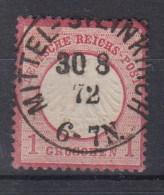 Rech Michel Kat.Nr. Gest 4 Preussen Stempel Mittelsteinkirch - Duitsland
