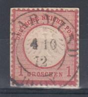 Rech Michel Kat.Nr. Gest 4 Preussen Stempel Saarmund - Duitsland