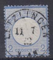 Rech Michel Kat.Nr. Gest 5 Preussen Stempel  Letzingen Gepr. Brugger - Duitsland