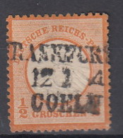 Rech Michel Kat.Nr. Gest 18 Bahnpost Frankfurt - Cöln - Germany