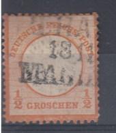 Rech Michel Kat.Nr. Gest 18 Preussen Bahnpost Thale - Magdeburg - Germany