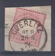 Rech Michel Kat.Nr. Gest 19 Preussen Stempel Goerlitz St.P. - Duitsland