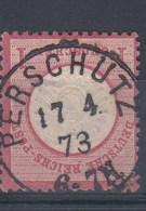 Rech Michel Kat.Nr. Gest 19 Preussen Stempel Perschütz - Duitsland