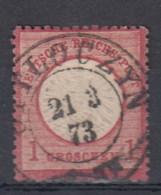 Rech Michel Kat.Nr. Gest 19 Preussen Stempel Ottloczyn - Duitsland