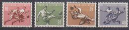 Liechtenstein 1954 Sport I Football 4v ** Mnh (38036) - Liechtenstein