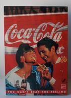 - Carton Publicitaire. COCA COLA - - Affiches Publicitaires