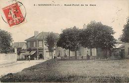 91: Wissous - Rond Point De La Gare - France