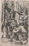 """Carte Postale Militaire / 1917 / """"Aux Tranchées""""/ Sculpture De Cannes / Signée - 1914-18"""
