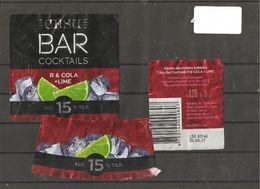 """Coctail  """"Bar Coctails"""" Labels - Labels"""