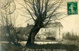 Cpa Carte Photo SAINT CHERON 91 Moulin Des Herbages - Saint Cheron