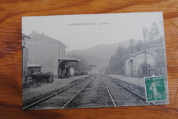 1 Cp  CHAMBORIGAUD - La Gare - Chamborigaud
