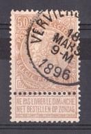 Belgique - 1893/1900 - N° 62 - Leopold II - 1893-1900 Thin Beard