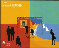 2004 Portugal   Mi. Bl. 196 Used  Europa: Ferien - 2004