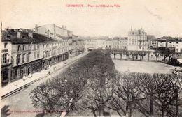 CPA COMMERCY - PLACE DE L'HOTEL DE VILLE - Commercy