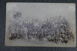 1914 1918  Aspelare Zivilarbeiter Echte Foto Compagnie Zeldzaam Postkaartformaat Cpa Pk - 1914-18