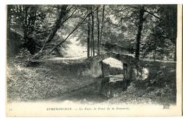 CPA 60 ERMENONVILLE Le Parc  Pont De La Brasserie - Ermenonville