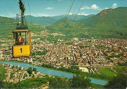 Trento (Trentino) Panorama E Funivia Trento-Sardagna, General View, Gesamtansicht, Vue Generale Et Funiculaire - Trento