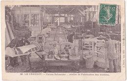 71. LE CREUSOT. Usines Schneider. Atelier De Fabrication Des Modèles. 28 - Le Creusot