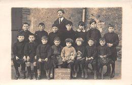 ¤¤  -  SAINTE-PAZANNE   -   Carte-Photo De La Communale En 1922  -  Elèves , Ecole    -  ¤¤ - Otros Municipios