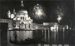 Cpsm Format Cpa.841. VENEXIA . CHIESA DELLA SALUTE . AFFR AU VERSO . 2 SCANES - Venezia (Venice)
