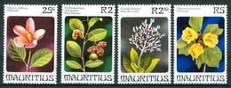 1981 Mauritius Fiori Flowers Fleurs MNH** Fio191 - Mauritius (1968-...)