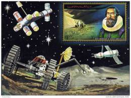 B102-  Bloc MNH Ajman  400th. Anniv. Of Kepler's Birth 1571-1971 Sc. 362 - Ruimtevaart