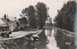 CPSM    21  PONT ROYAL LA POSTE LE CANAL - France