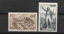 France; N°314/315** Minucule Défaut Sur Le 315 - France