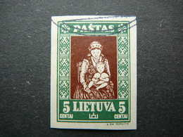 Lietuva Litauen Lituanie Litouwen Lithuania 1933 Lithuanian Child Used # Mi. 364 B - Lithuania