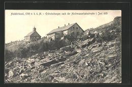 CPA Heidebrünnel, Erdrutschungen Nach Der Inondationkatastrophe 1. Juni 1921 - Tchéquie
