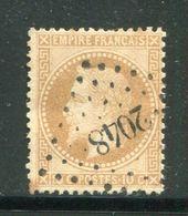 Y&T N°28B, PC Des GC 2048 - Storia Postale (Francobolli Sciolti)