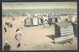 +++ CPA - KNOKKE  KNOCKE - La Plage - Cabines - 1910   // - Knokke