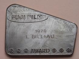 FUJI FILM - 1979 L. BILLIAU * AWARD * ( Zie Foto's ) ! - Fotografie En Filmapparatuur