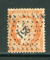 Y&T N°38, PC Des GC 251 (signé Au Dos) - Storia Postale (Francobolli Sciolti)
