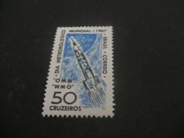K3959a- Stamp MNH Brazil - 1967- SC. 1035-  Research Rocket - Space
