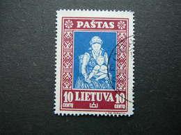 Lietuva Litauen Lituanie Litouwen Lithuania 1933 Lithuanian Child Used # Mi. 365 A - Lithuania