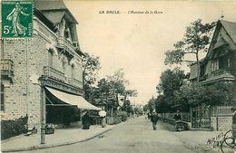 Cpa LA BAULE 44 L' Avenue De La Gare - Francis HUCHET Horticulteur - La Baule-Escoublac