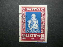 Lietuva Litauen Lituanie Litouwen Lithuania 1933 Lithuanian Child Used # Mi. 365 B - Lithuania