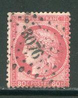 Très Très Rare...... Y&T N°57, PC Des GC 3076 - 1849-1876: Periodo Classico